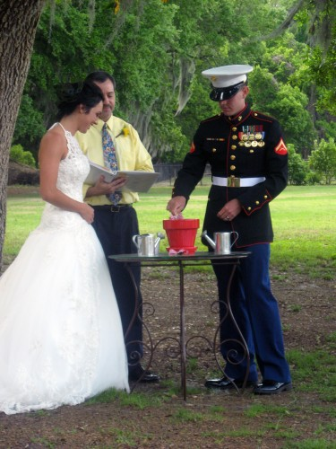 Planting Wedding Ceremony