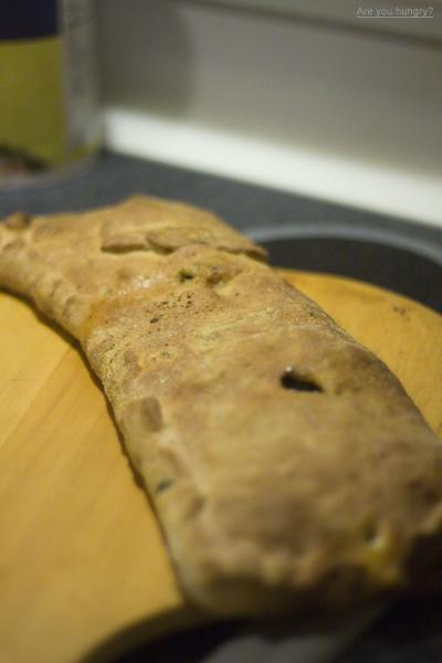 Ham Cheese Stromboli