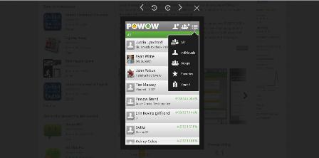 Powow Text App